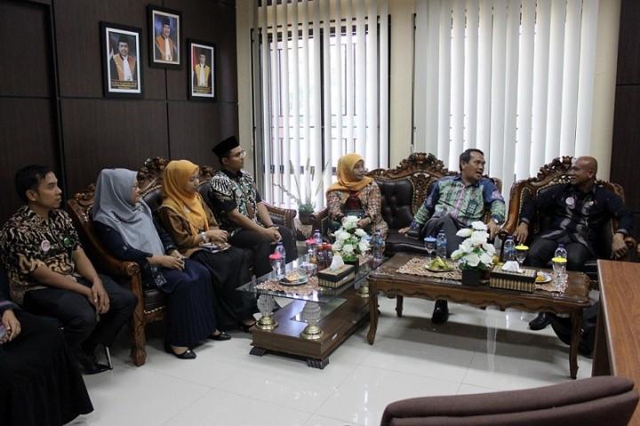 Kunjungan Waka PTA Padang di Pengadilan Agama Sawahlunto